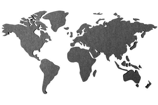 HW Collection World map